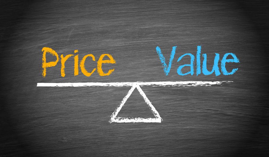 price value benefit concept