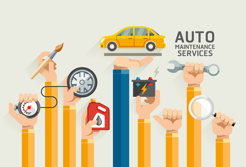 vehicle leasing auto maintenance